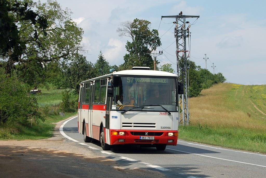 Fotogalerie » Karosa B931E.1707 7446 | Brno | Soběšice | Zeiberlichova | Panská lícha