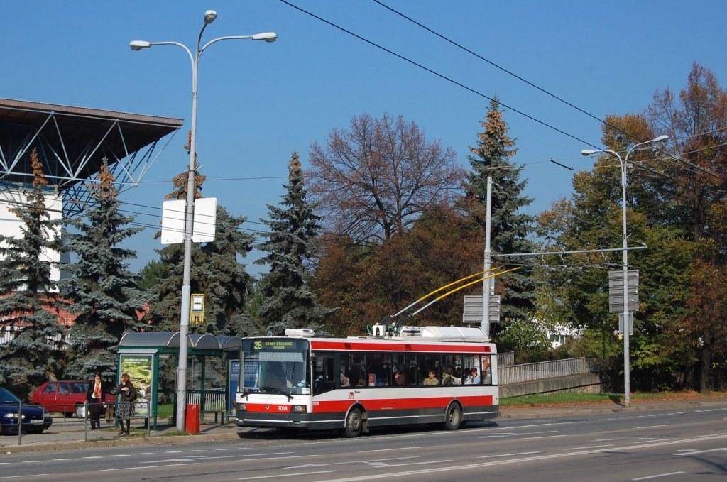 Fotogalerie » Škoda 21Tr 3018 | Brno | střed | Drobného | Zimní Stadion