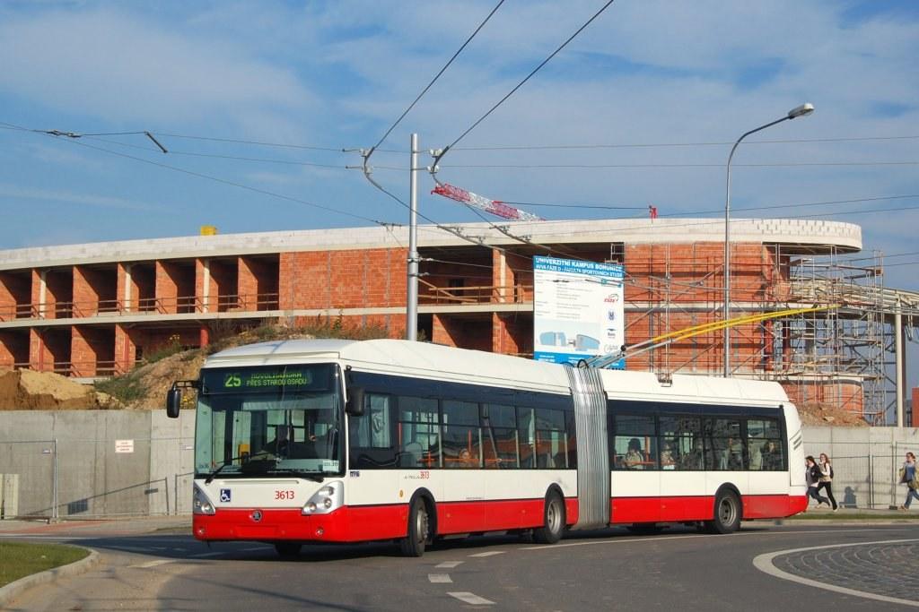 Fotogalerie » Škoda 25Tr Citelis 1B 3613 | Brno | Bohunice | Netroufalky