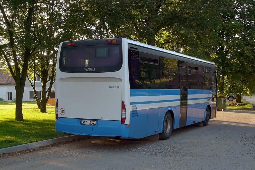 Fotogalerie » Irisbus Crossway 10.6M 4B7 5502   Újezd u Černé Hory