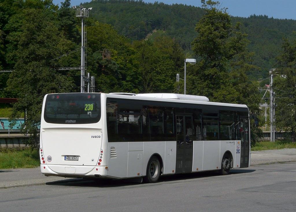 Fotogalerie » Irisbus Crossway LE 12M 4B9 8341 | Blansko | Blansko, aut. st.