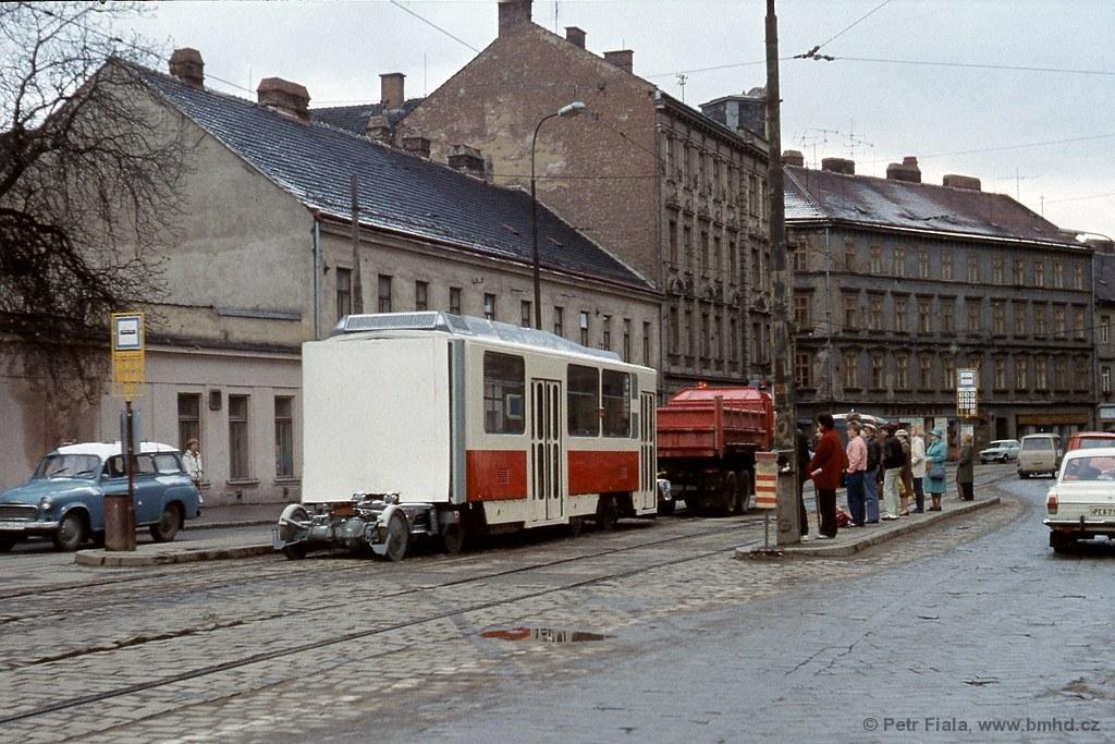 Fotogalerie » ČKD Tatra KT8D5 1701 | Brno | Staré Brno | Křížová | Poříčí