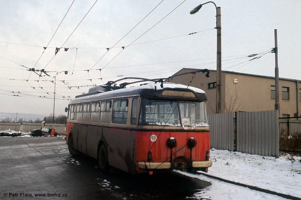 Fotogalerie » Škoda 9TrH25 3110 | Brno | Vozovna Slatina