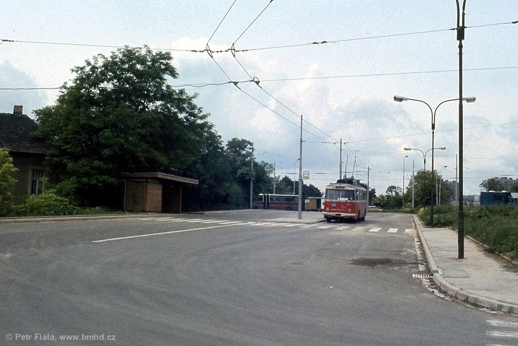 Fotogalerie » Škoda 9TrHT28 3162 | Brno | Štefánikova čtvrť | Kohoutova | Štefánikova čtvrť, smyčka