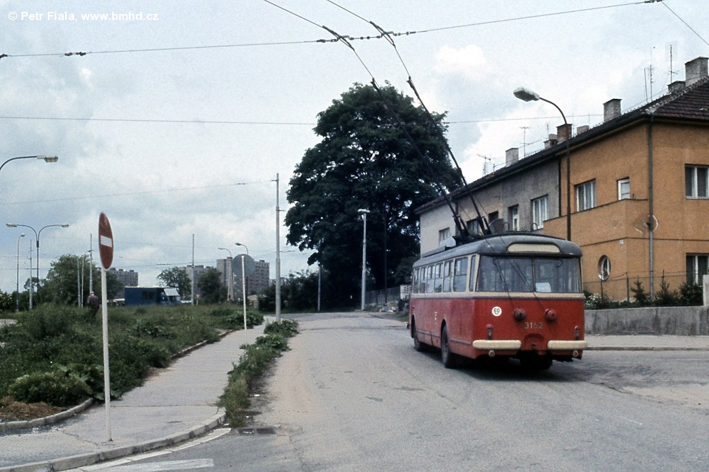 Fotogalerie » Škoda 9TrHT28 3162 | Brno | Štefánikova čtvrť | Kohoutova