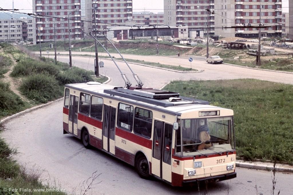 Fotogalerie » Škoda 14Tr01 3172 | Brno | Nový Lískovec | Petra Křivky | Koniklecová