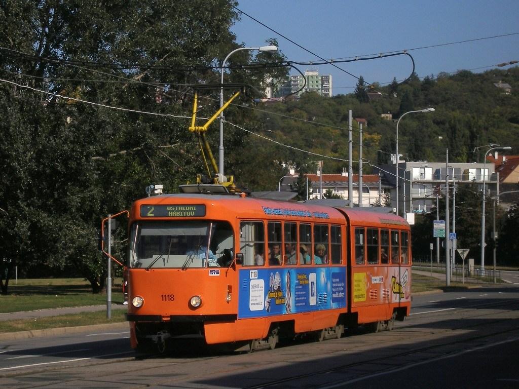 Fotogalerie » ČKD Tatra K2P 1118 | Brno | Židenice | Bubeníčkova