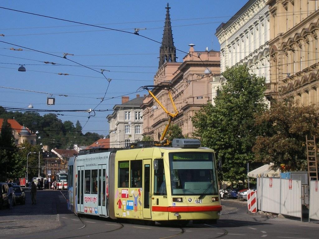 Fotogalerie » Škoda 03T7 1821 | Brno | střed | Joštova