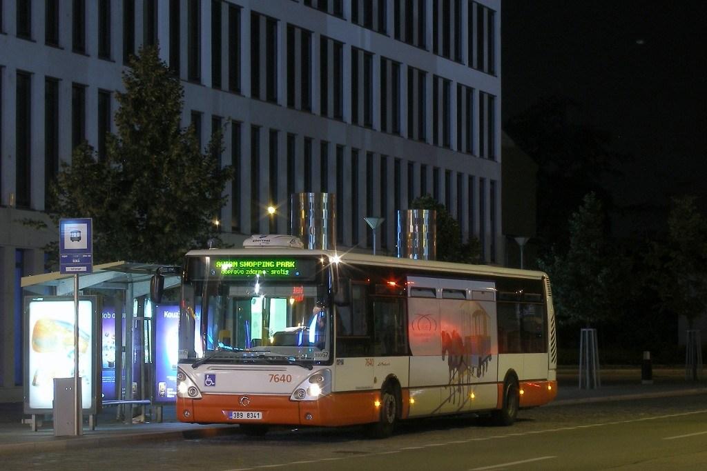 Fotogalerie » Irisbus Citelis 12M 7640 | Brno | Trnitá | Úzká