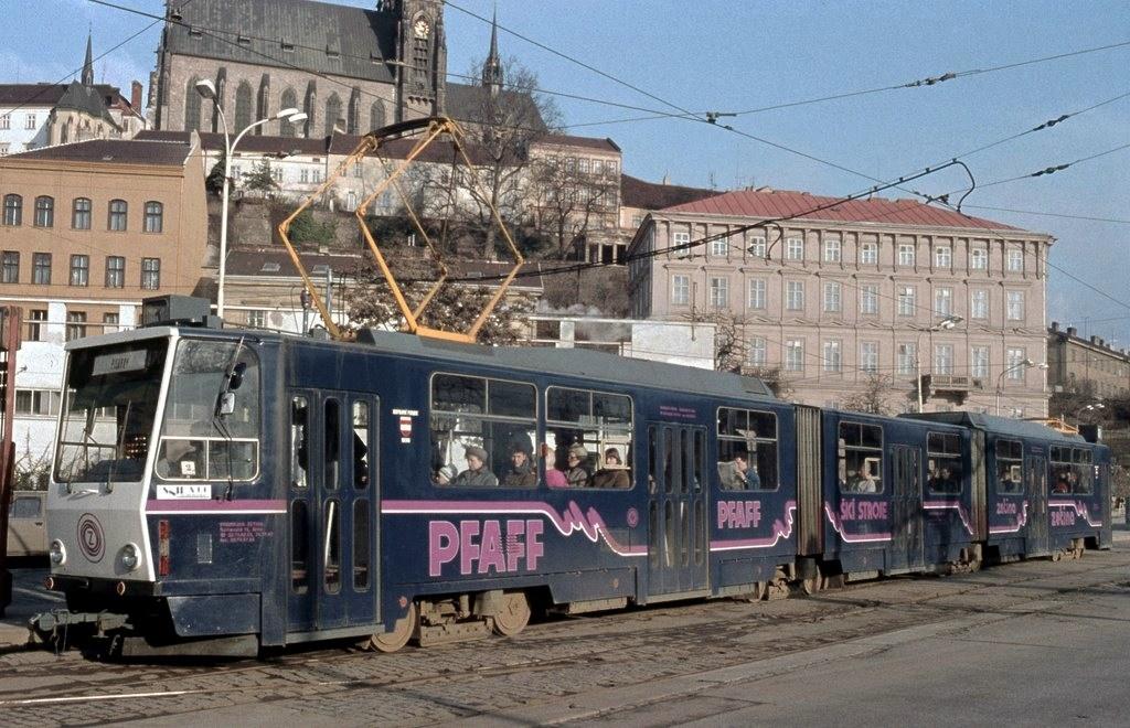 Fotogalerie » ČKD Tatra KT8D5 1701 | Brno | střed | Nové sady | Nové sady