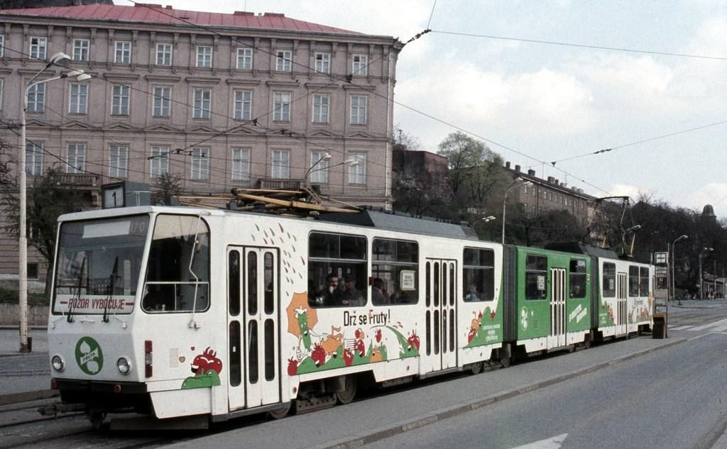 Fotogalerie » ČKD Tatra KT8D5 1709 | Brno | střed | Nové sady | Nové sady