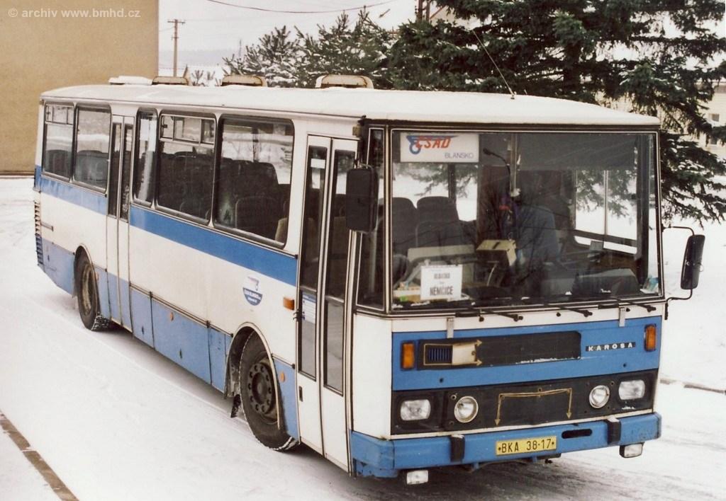 Fotogalerie » Karosa C734 BKA 38-17   Němčice
