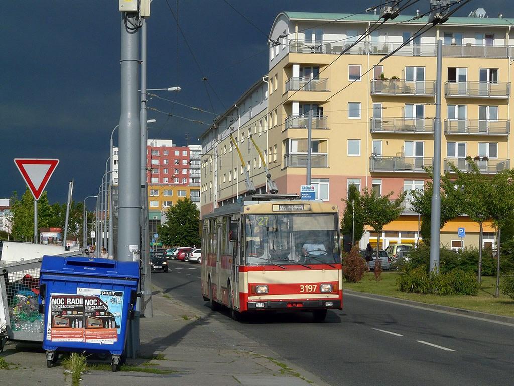 Fotogalerie » Škoda 14Tr07 3197 | Brno | Vinohrady | Pálavské náměstí