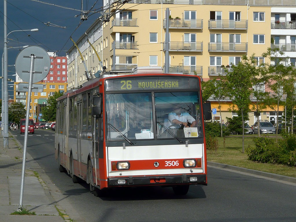 Fotogalerie » Škoda 15TrM 3506 | Brno | Vinohrady | Pálavské náměstí