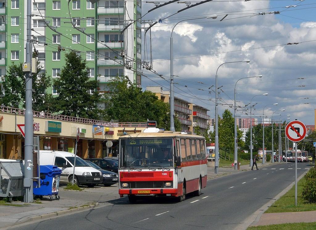 Fotogalerie » Karosa B732.1652 7285 | Brno | Vinohrady | Pálavské náměstí