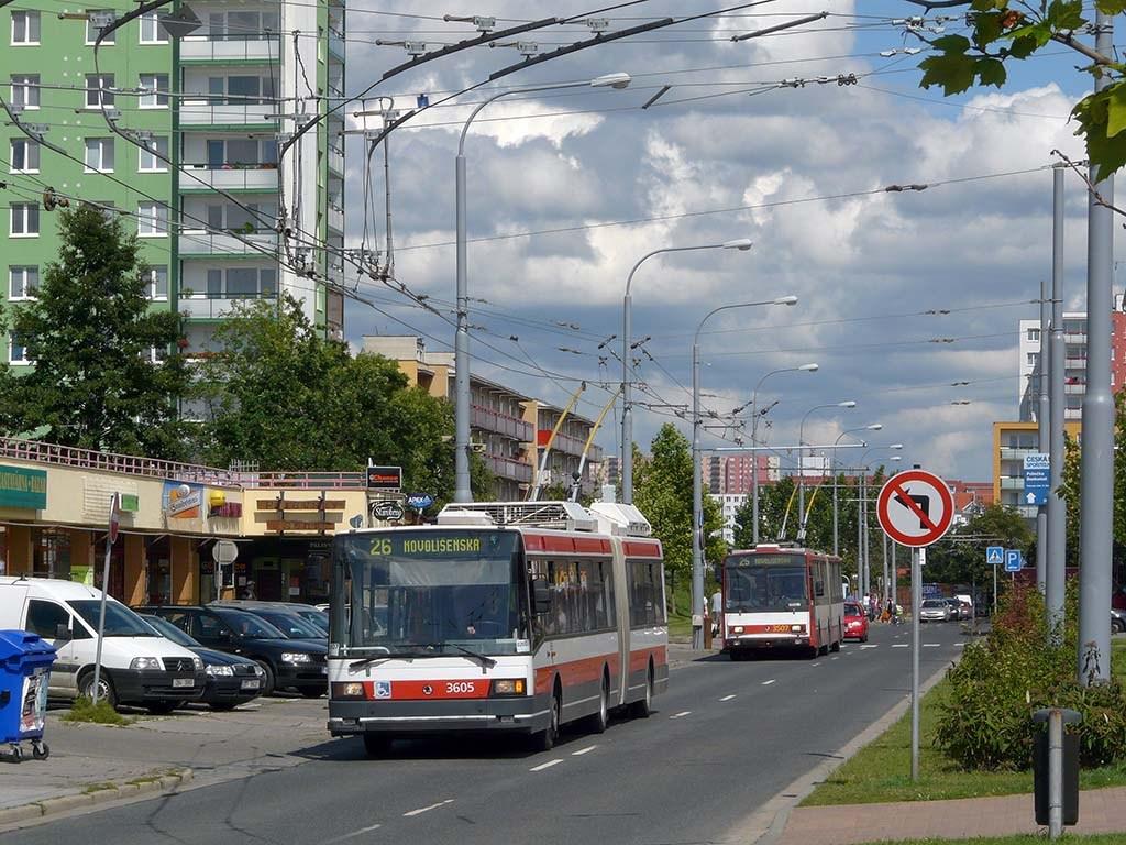 Fotogalerie » Škoda 22Tr 3605 | Brno | Vinohrady | Pálavské náměstí