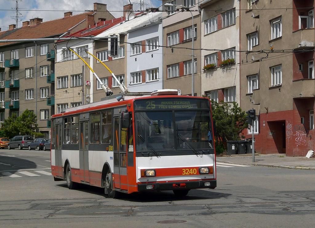 Fotogalerie » Škoda 14TrR 3240 | Brno | Černá Pole | Provazníkova