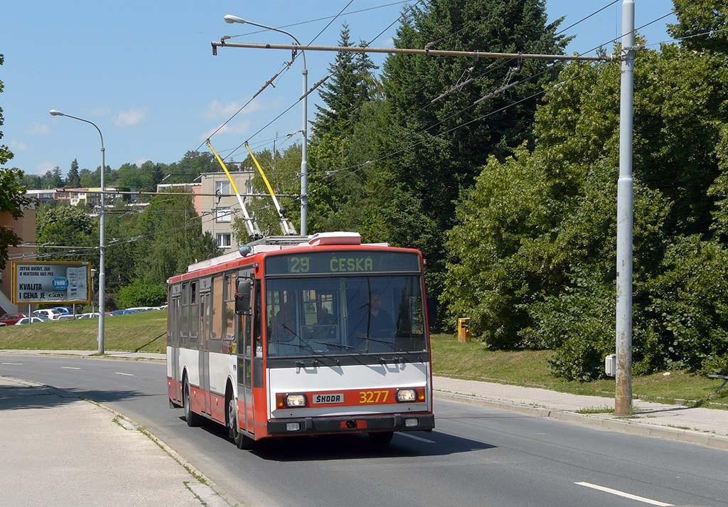 Fotogalerie » Škoda 14TrR 3277 | Brno | Žabovřesky | Korejská