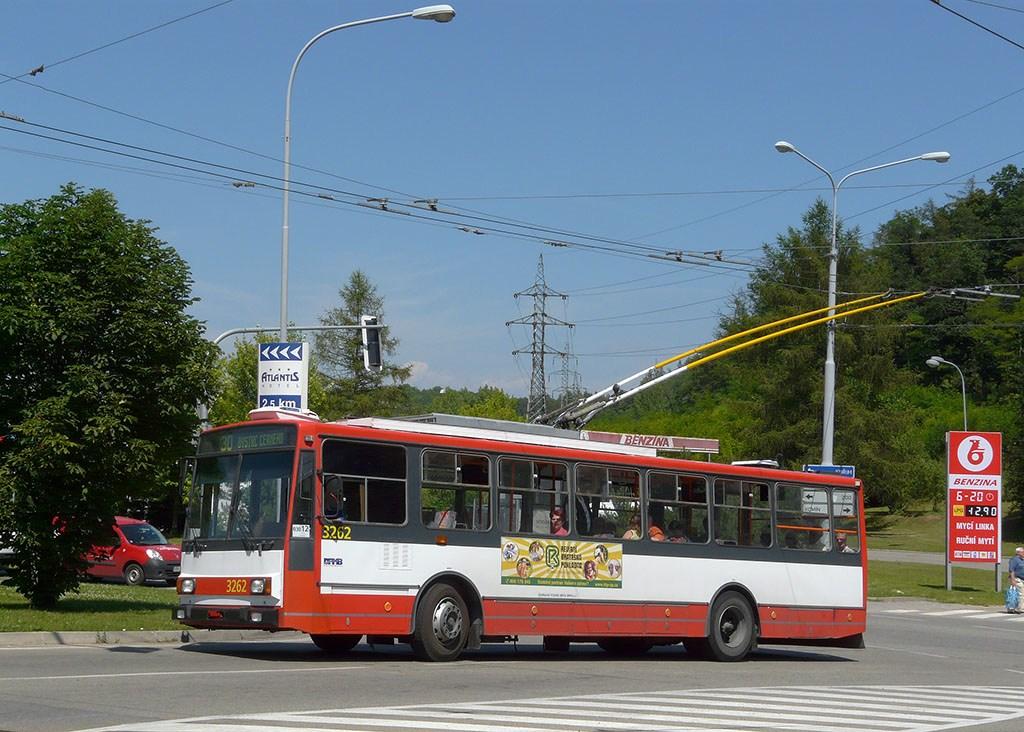 Fotogalerie » Škoda 14TrR 3262 | Brno | Komín | Kníničská