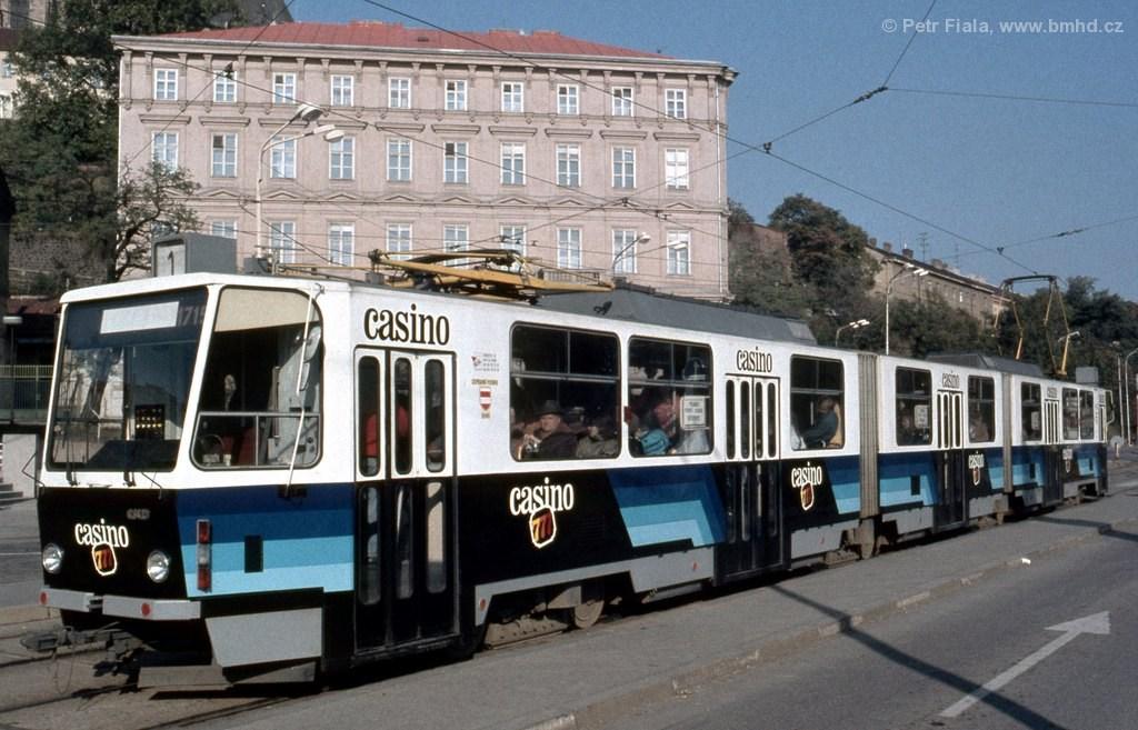 Fotogalerie » ČKD Tatra KT8D5 1715   Brno   střed   Nové sady   Nové sady