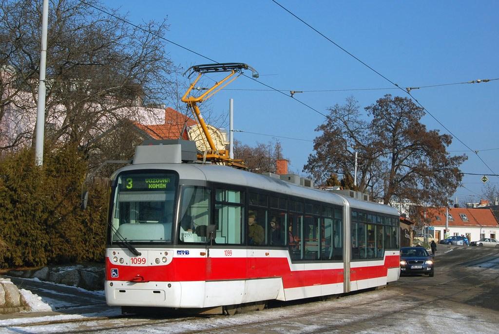 Fotogalerie » Pragoimex VarioLF2R.E 1099 | Brno | Žabovřesky | Sochorova | Rosického náměstí