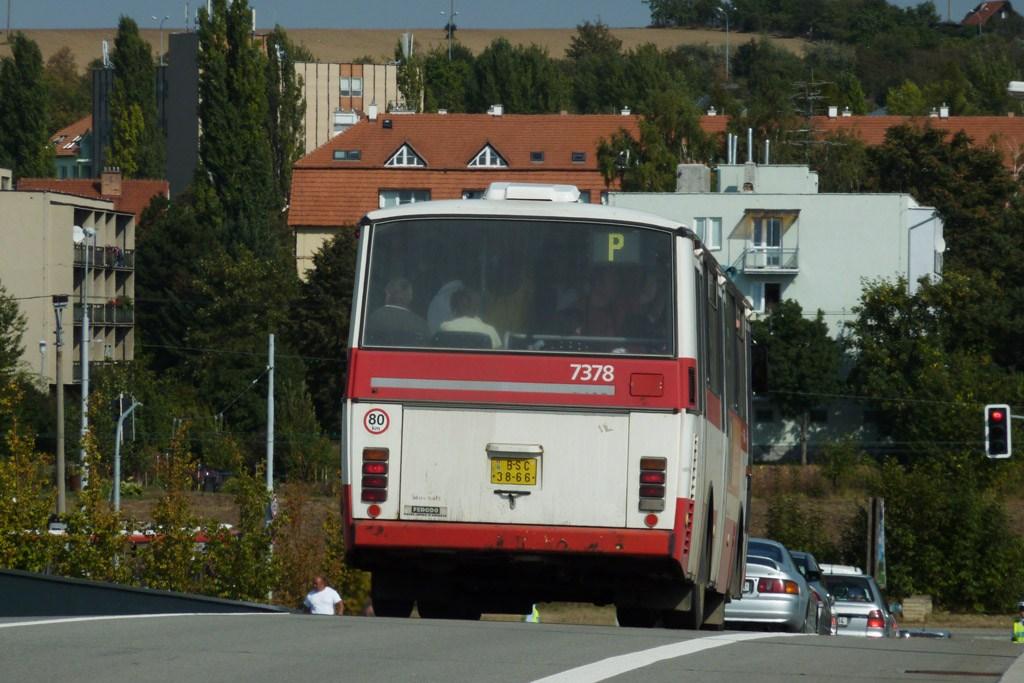 Fotogalerie » Karosa B732.1654.3 7378 | Brno | Slatina | Švédské valy