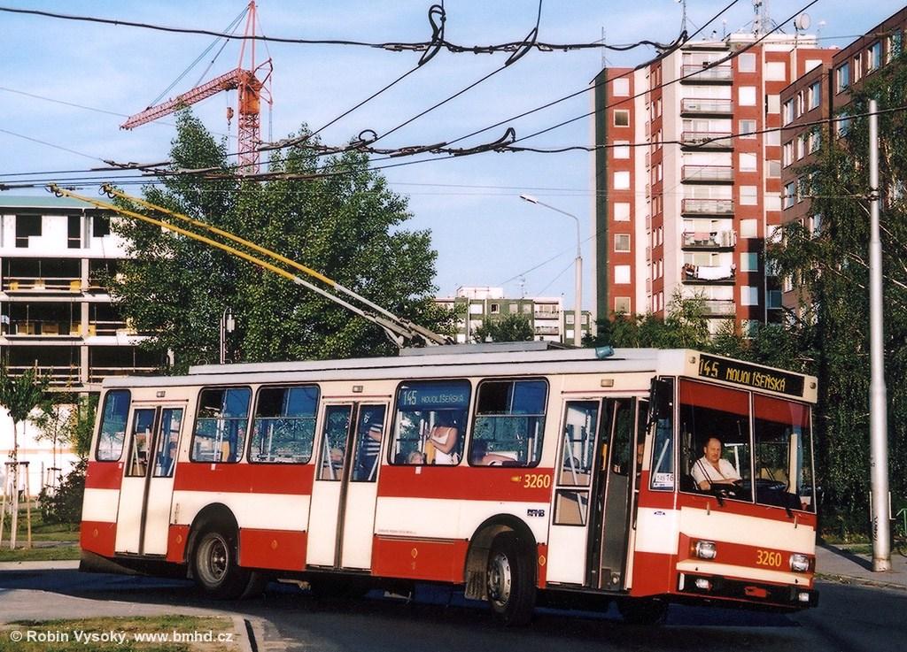 Fotogalerie » Škoda 14Tr14 3260 | Brno | Vinohrady | Pálavské náměstí