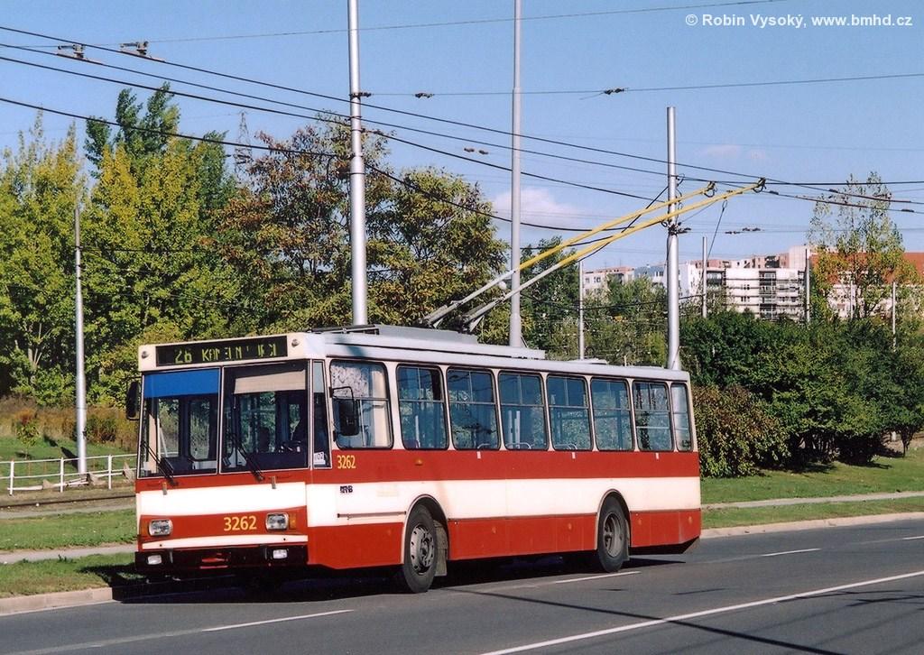 Fotogalerie » Škoda 14Tr14 3262 | Brno | Líšeň | Novolíšeňská