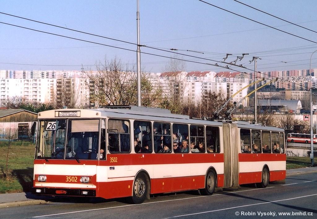 Fotogalerie » Škoda 15Tr02 3502 | Brno | Vinohrady | Věstonická