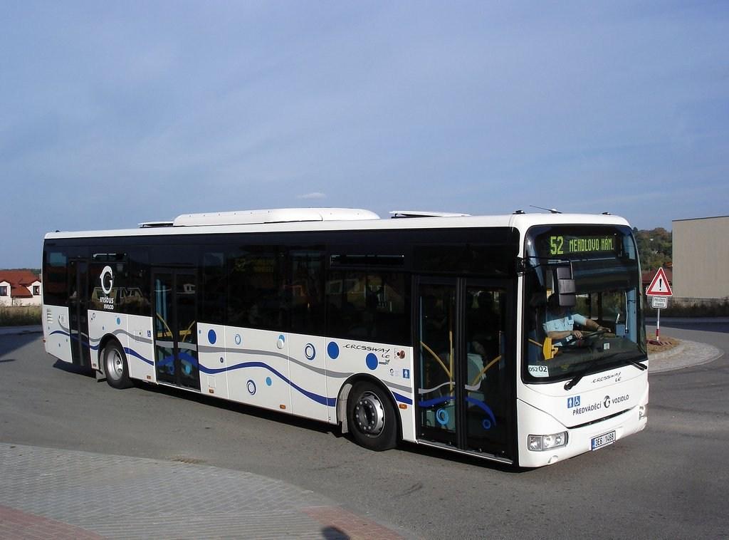 Fotogalerie » Irisbus Crossway LE 12.8M 3E6 1468 2711 | Brno | Žebětín | Bartolomějská