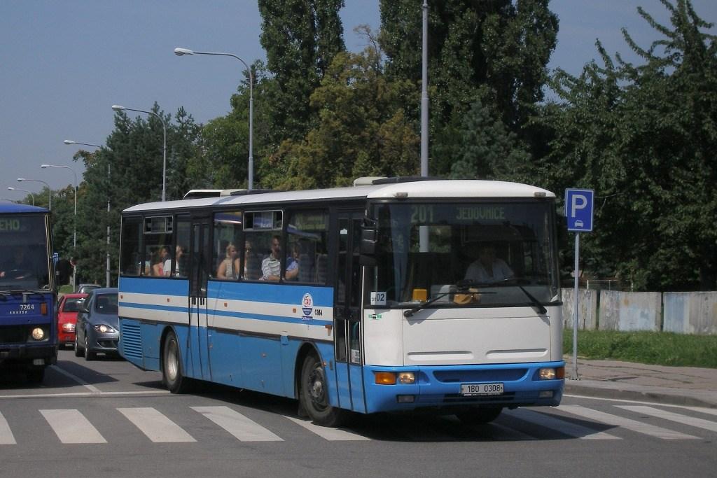 Fotogalerie » Karosa C954.1360 1B0 0308 | Brno | Židenice | Koperníkova