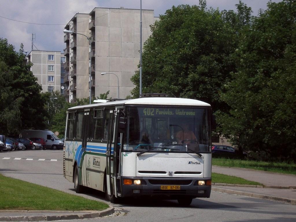 Fotogalerie » Karosa C934E.1351 BSE 97-06 | Brno | Starý Lískovec | Vltavská