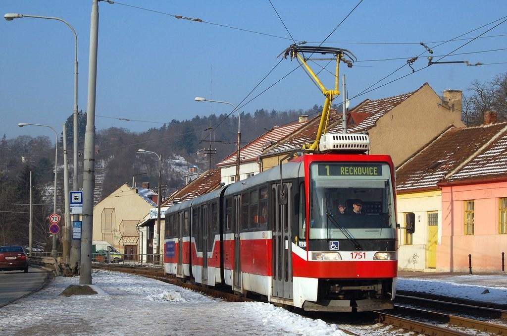 Fotogalerie » Pars Nova K3R-N 1751 | Brno | Komín | Kníničská
