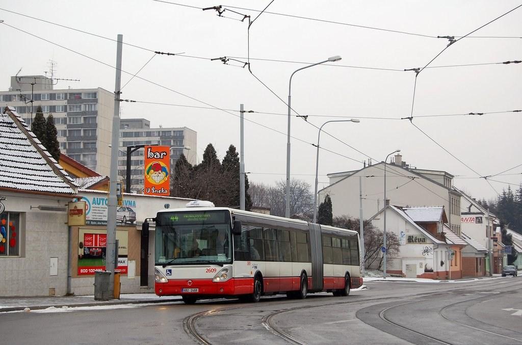 Fotogalerie » Irisbus Citelis 18M 2609 | Brno | Žabovřesky | Rosického náměstí | Rosického náměstí