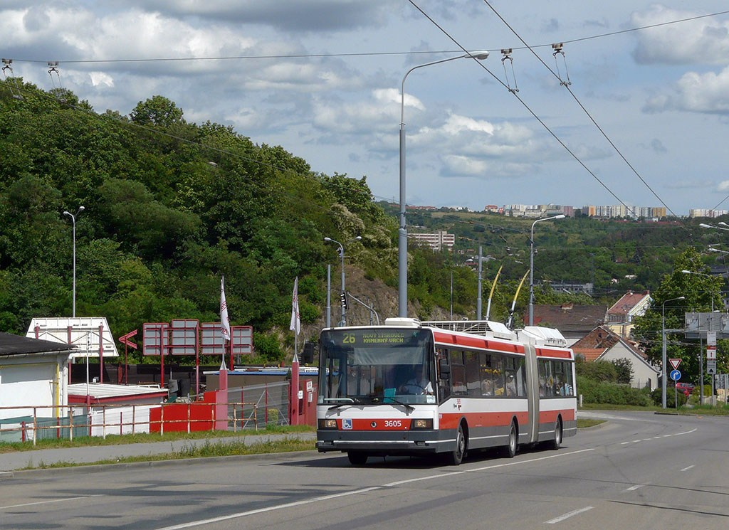 Fotogalerie » Škoda 22Tr 3605   Brno   Husovice   Provazníkova
