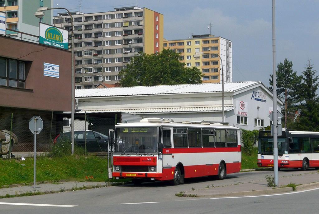 Fotogalerie » Karosa B731.1669 7410   Brno   Královo Pole   Budovcova   Královo Pole, nádraží