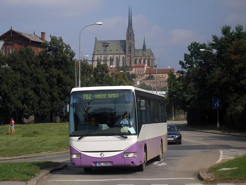 Fotogalerie » Irisbus Crossway 12M 3B6 7889 | Brno | Trnitá | Uhelná