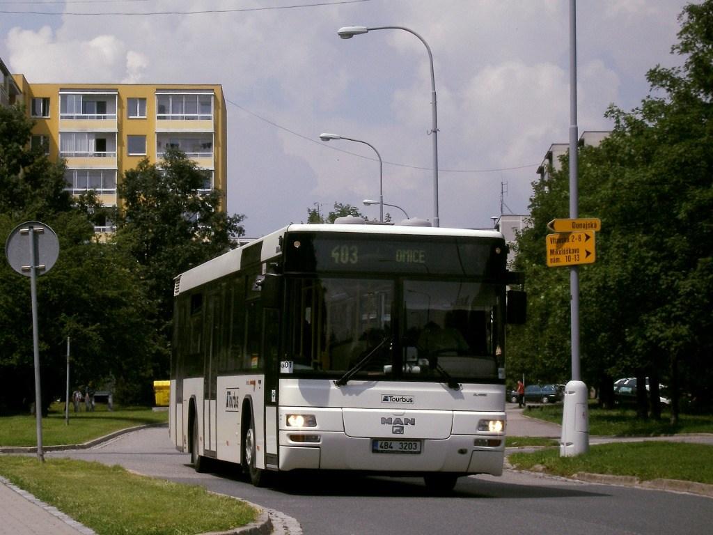 Fotogalerie » MAN MAN Lions City TÜ 4B4 3203 | Brno | Starý Lískovec | Vltavská