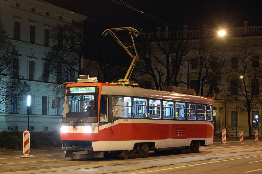 Fotogalerie » ČKD DS T3R 1615 | Brno | střed | Husova