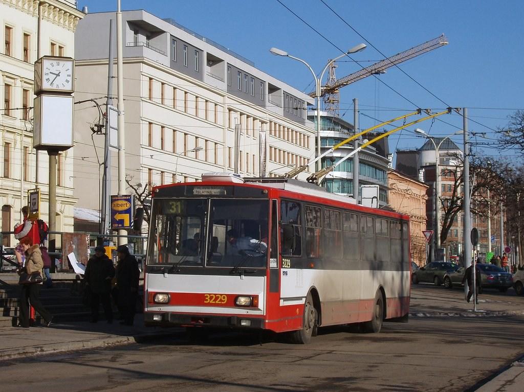 Fotogalerie » Škoda 14Tr08/6 3229 | Brno | střed | Nádražní | Hlavní nádraží