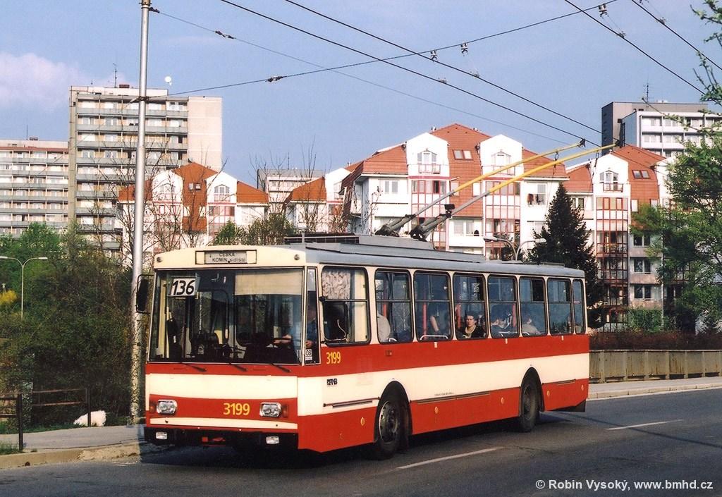 Fotogalerie » Škoda 14Tr07 3199 | Brno | Žabovřesky | Korejská