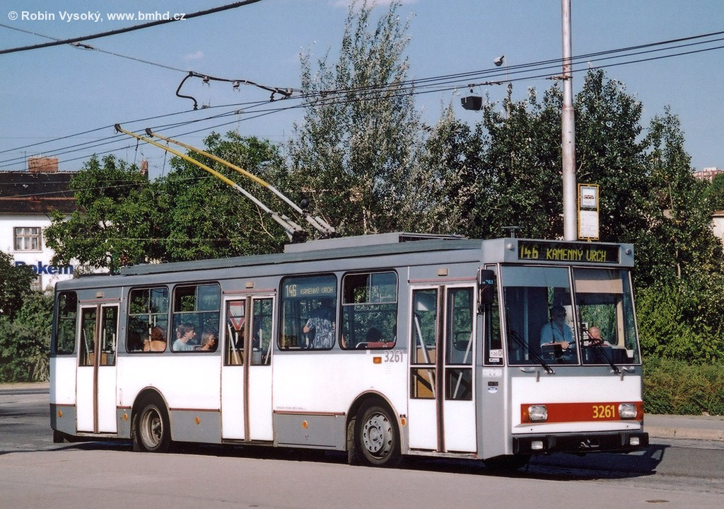 Fotogalerie » Škoda 14Tr14 3261 | Brno | Židenice | Stará Osada