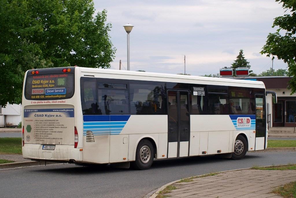 Fotogalerie » Irisbus Crossway 12M 4B5 1033   Slavkov u Brna   Slavkov u Brna, aut. st.