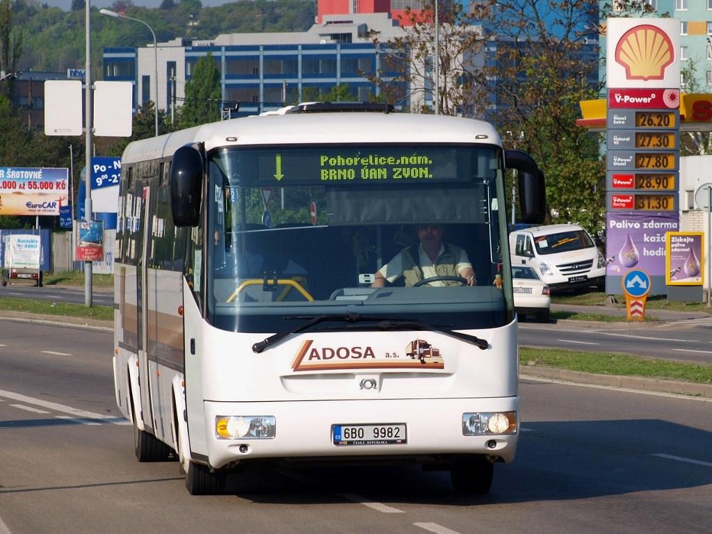 Fotogalerie » SOR SOR C 12 6B0 9982 | Brno | Trnitá | Opuštěná