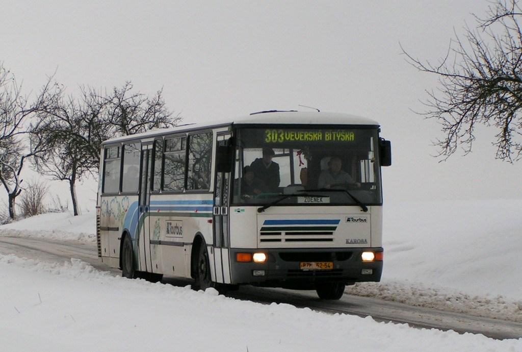 Fotogalerie » Karosa C934E.1351 BZM 52-54   Veverská Bítýška
