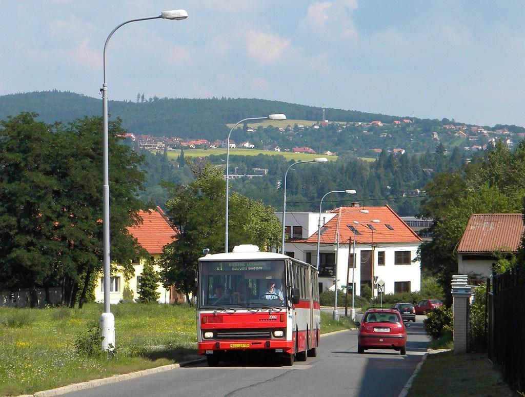 Fotogalerie » Karosa B741.1916 2302 | Brno | Bystrc | Páteřní