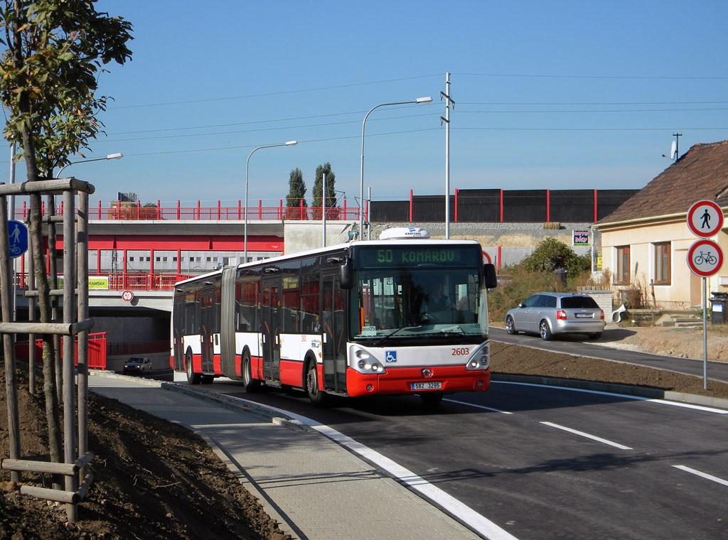 Fotogalerie » Irisbus Citelis 18M 2603 | Brno | Horní Heršpice | Bohunická