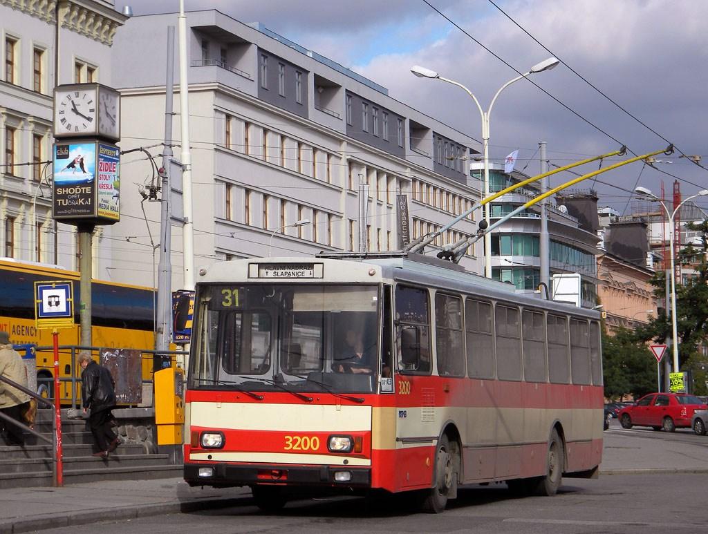 Fotogalerie » Škoda 14Tr07 3200 | Brno | střed | Nádražní | Hlavní nádraží