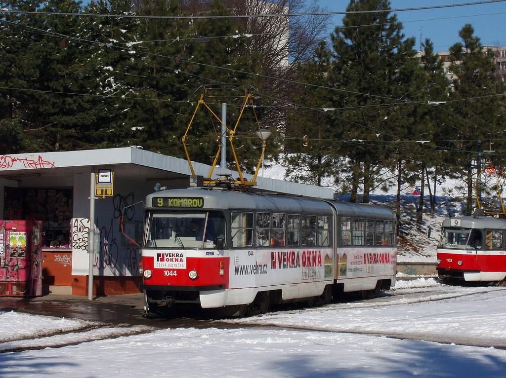 Fotogalerie » K2T 1044   Brno   Lesná   Lesná, Čertova rokle