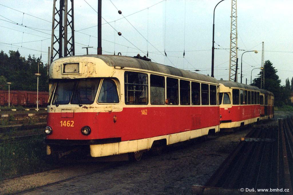 Fotogalerie » T2R 1462 | T2R 1470 | T2R 4104 | Brno | Královo Pole | Vlečka DP v Králově Poli
